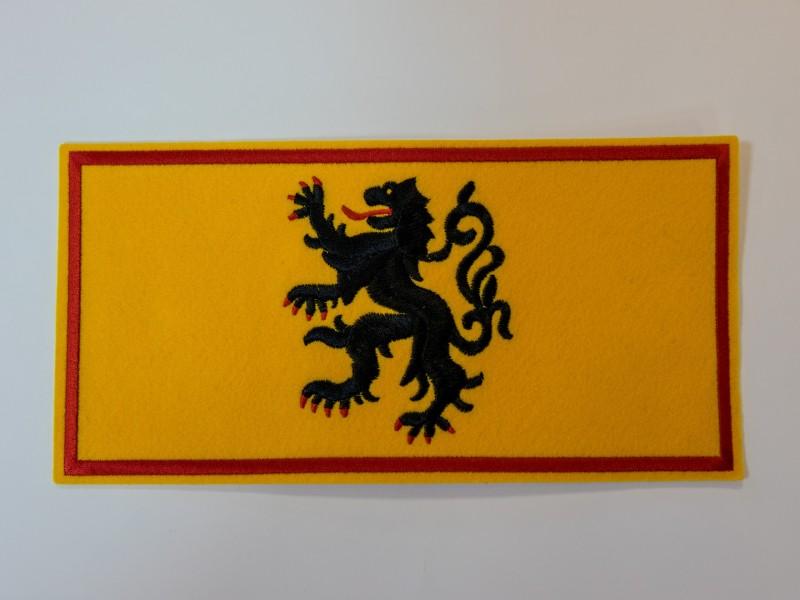 Écusson Drapeau des Flandres Grand
