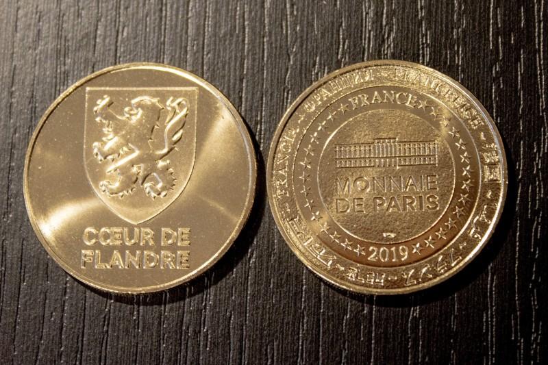 Pièce Monnaie de Paris Coeur de Flandre